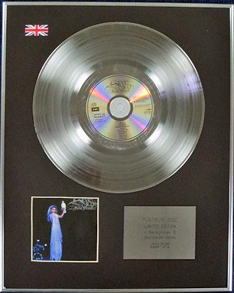 STEVIE NICKS - Limited Edition CD Platinum Disc - BELLA DONNA