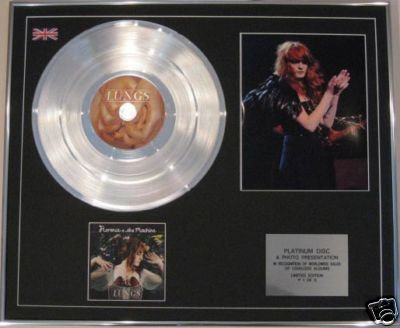 FLORENCE & THE MACHINE  - CD Platinum Disc+Photo- LUNGS