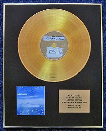 Grandaddy - Limited Edition CD 24 Carat Gold Coated LP Disc - Sumday
