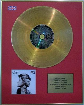 THE SCRIPT - Ltd Edition CD Gold Disc - #3