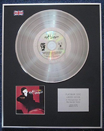 Matt Bianco - Limited Edition CD Platinum LP Disc - The Best of