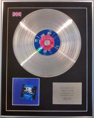 U.K. SUBS -  Limited Edition CD  Platinum Disc  - ANOTHER KIND OF BLUES