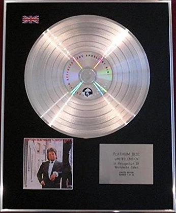 CAPTAIN BEEFHEART - Ltd Edition CD Platinum Disc - THE SPOTLIGHT KID.