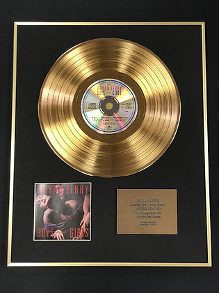 Bryan Ferry - Exclusive Limited Edition 24 Carat Gold Disc - Boys And Girls