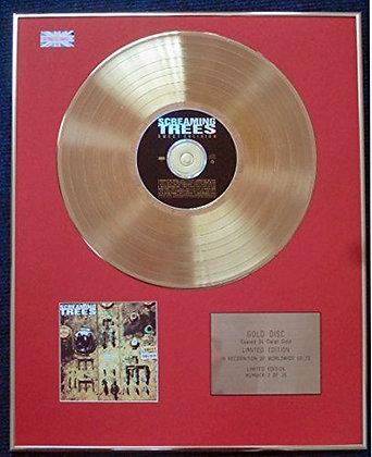 Screaming Trees - CD 24 Carat Gold Coated LP Disc - Sweet Oblivion