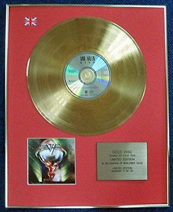 Van Halen - Limited Edition CD 24 Carat Gold Coated LP Disc - 5150