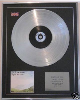 BLACK CROWES - CD Platinum Disc- BEFORE THE FROST