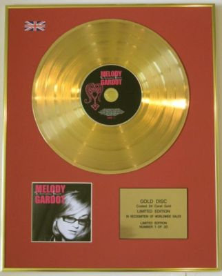 MELODY GARDOT -Ltd Edtn CD Gold Disc-WORRISOME HEART