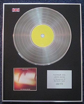 Kings Of Leon - Limited Edition CD Platinum LP Disc - Come Around Sundown