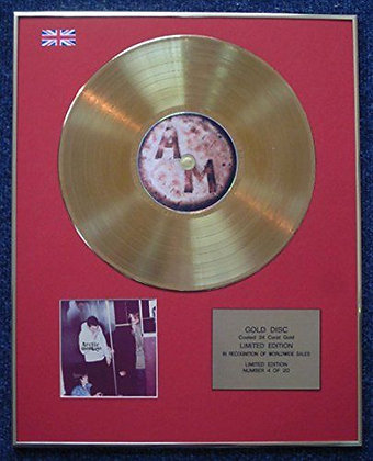 Arctic Monkeys - Limited Edition CD 24 Carat Gold Coated LP Disc - Humbug