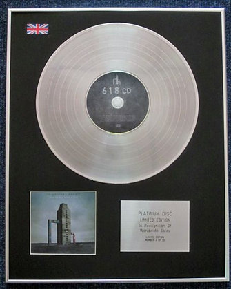 Frightened Rabbit  - Cd Platinum Lp Disc  - Painting Of A Panic Attack