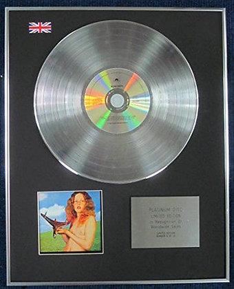 BLIND FAITH - Limited Edition CD Platinum LP Disc - 'BLIND FAITH'