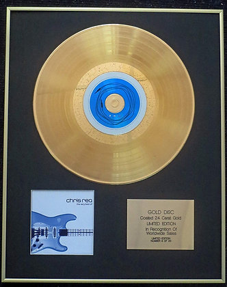 Chris Rea - Exclusive Limited Edition 24 Carat Gold Disc - The Very Best of