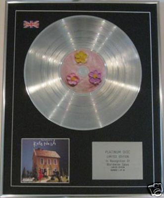 KATE NASH  -  CD Platinum Disc - MADEOF BRICKS