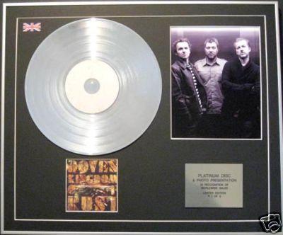 DOVES - CD Platinum Disc+Photo - KINGDOM OF RUST
