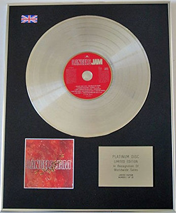 LITTLE ANGELS - Limited Edition CD Platinum Disc - JAM