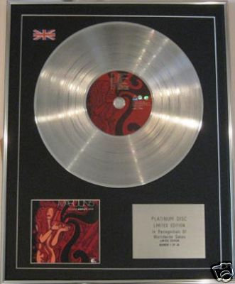 MAROON 5   CD Platinum Disc - SONGS ABOUT JANE