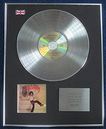 Leo Sayer - Limited Edition CD Platinum LP Disc - The very best of