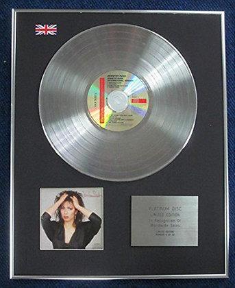 Jennifer Rush - Limited Edition CD Platinum LP Disc - Jennifer Rush