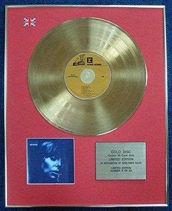 Joni Mitchell - Limited Edition CD 24 Carat Gold Coated LP Disc - Blue