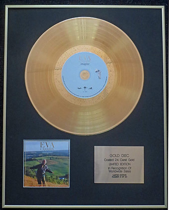 Eva Cassidy - Exclusive Limited Edition 24 Carat Gold Disc - Imagine