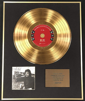 Billy Joel - Exclusive Limited Edition 24 Carat Gold Disc - Cold Spring Harbor