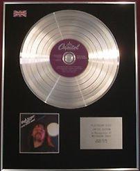 BOB SEGER & THE SILVER BULLET BAND -  CD Platinum Disc - NIGHT MOVES