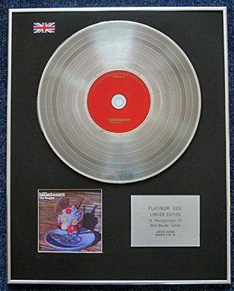 Bluetones - Limited Edition CD Platinum LP Disc - The Singles