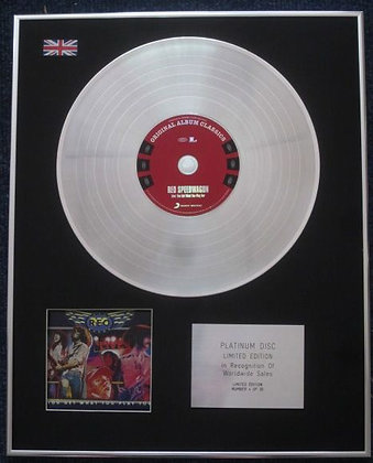 Reo Speedwagon  - Cd Platinum Lp Disc  - Live: You Get What?