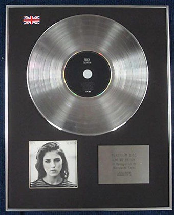 BIRDY - Limited Edition CD Platinum LP Disc - FIRE WITHIN