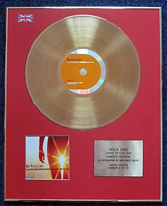 Fatboy Slim - CD 24 Carat Gold Coated LP Disc - Halfway Between…