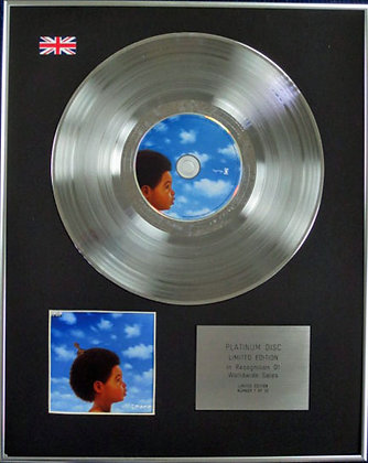 DRAKE - Limited Edition CD Platinum Disc - NOTHING WAS THE SAME