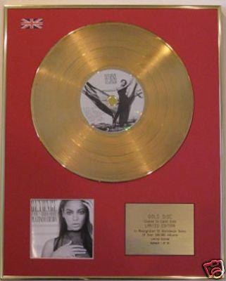 BEYONCE - Ltd Edt CD Gold Disc -I AM..SACHA FIERCE