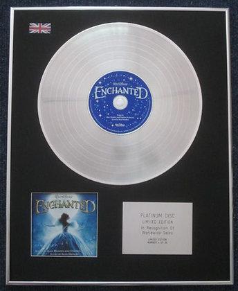 ENCHANTED - Limited Edition CD Platinum LP Disc - SOUNDTRACK