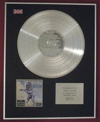 ROLLING STONES - CD Platinum Disc - BRIDGES TO BABYLON