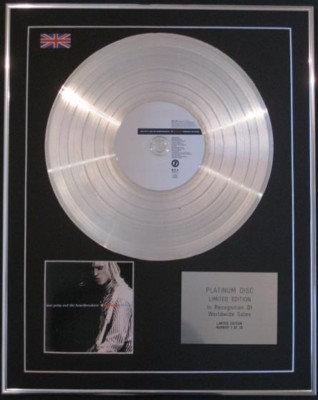 TOM PETTY &  HEARTBREAKERS  CD Platinum Disc-ANTHOLOGY