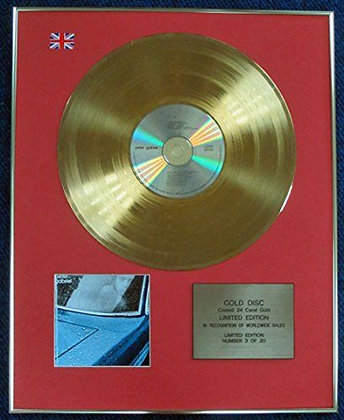 Peter Gabriel - Limited Edition CD 24 Carat Gold Coated LP Disc - Peter Gabriel