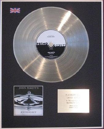 JOHN MARTYN - CD Platinum Disc - ANTHOLOGY