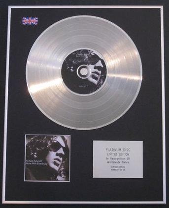 RICHARD ASHCROFT (of Verve) - Ltd Edtn  Platinum Disc - ALONE