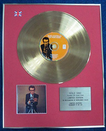 Elvis Costello - LTD Edition CD 24 Carat Gold Coated LP Disc - This Year's Model