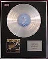 NATALIE MERCHANT - Limited Edition Platinum Disc - OPHELIA