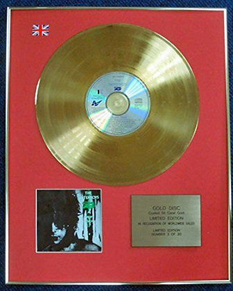 The Waterboys - Limited Edition CD 24 Carat Gold Coated LP Disc - A Pagan Place