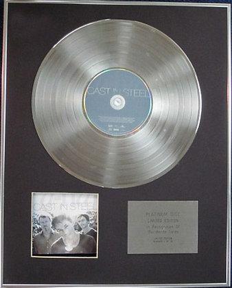 a-ha - Ltd Edition CD Platinum Disc - CAST IN STEEL