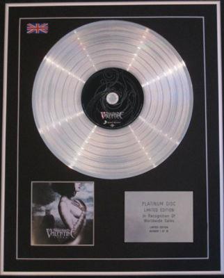 BULLET FOR MY VALENTINE - Ltd CD Platinum Disc - FEVER