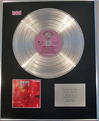 TRAFFIC (STEVE WINWOOD) - Ltd Edtn CD Platinum Disc - MR FANTASY