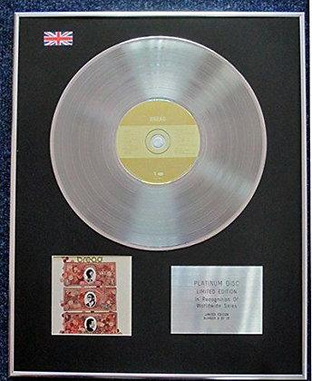"Bread - Limited Edition CD Platinum LP Disc - "" Bread """