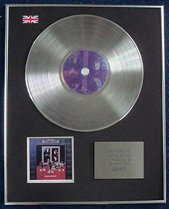 Jethro Tull - Limited Edition CD Platinum LP Disc - Benefit