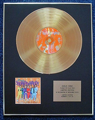 Showaddywaddy - LTD Edition CD 24 Carat Gold Coated LP Disc -The Best Of