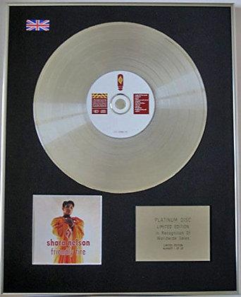 SHARA NELSON - CD Platinum Disc - FRIENDLY FIRE