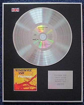 Wishbone Ash - Limited Edition CD Platinum LP Disc - Pilgrimage